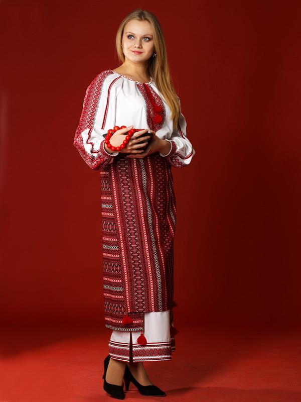 Вишитий жіночий костюм ЖК 9