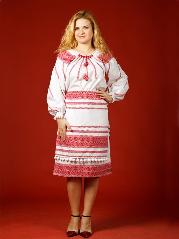 Вишитий жіночий костюм ЖК 21