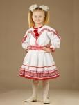 Вишитий костюм для дівчинки ЖК 37-17