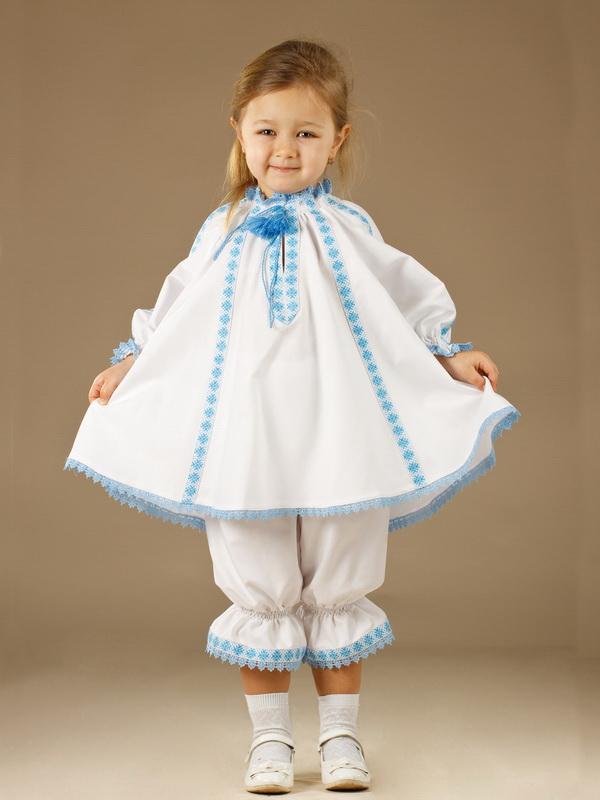 Вишитий костюм для дівчинки ЖК 42-12