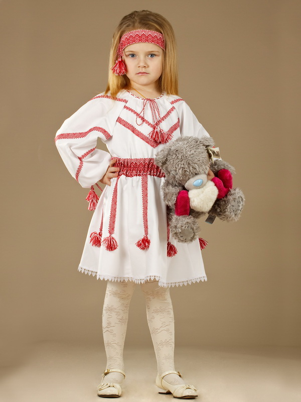 Вишитий костюм для дівчинки ЖК 45-11 - купити 6426bcc5f2864