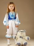 Вишитий костюм для дівчинки ЖК 50-12