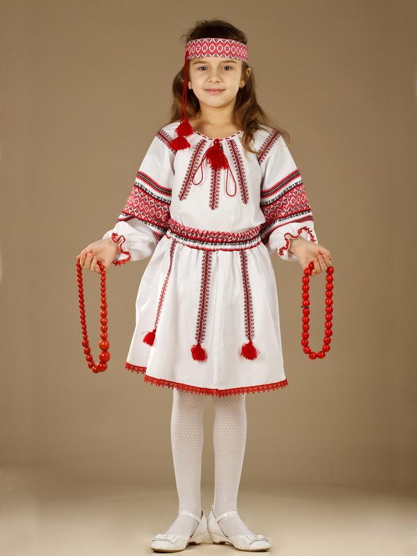 Вишитий костюм для дівчинки ЖК 51-3