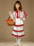 Вишитий костюм для дівчинки ЖК 52-13