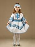 Вишитий костюм для дівчинки ЖК 54-4