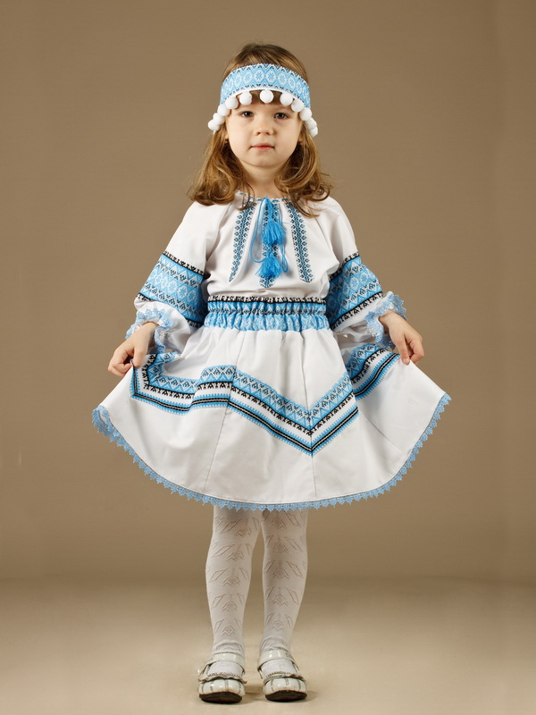 Вишитий костюм для дівчинки ЖК 54-4 - купити 00246844c289b