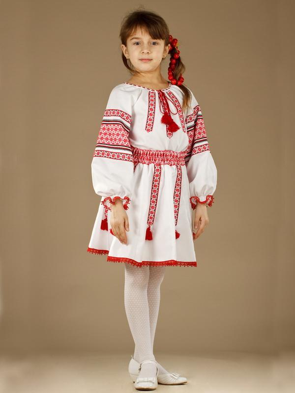 986c17d38198d6 Вишитий костюм для дівчинки ЖК 56-17 - купити