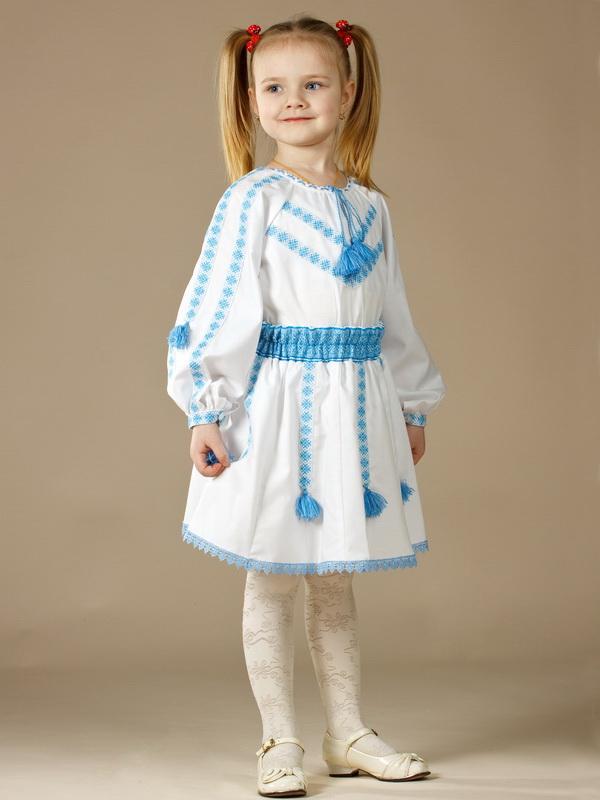 Вишитий костюм для дівчинки ЖК 58-12