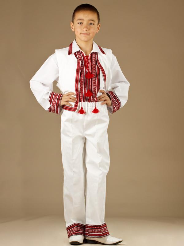 Вишитий костюм для хлопчика КХ 3-9