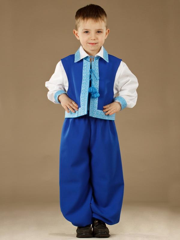 Вишитий костюм для хлопчика КХ 9-12