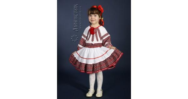 ba99e7d3e3464d Вишиті костюмчики для дівчаток - купити