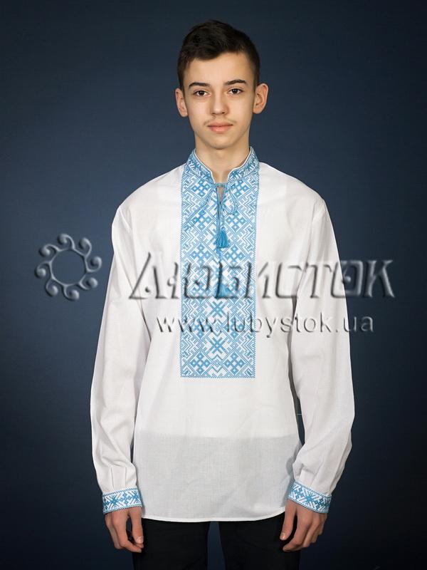 Вишита сорочка хрестиком ЧСВ 1-5