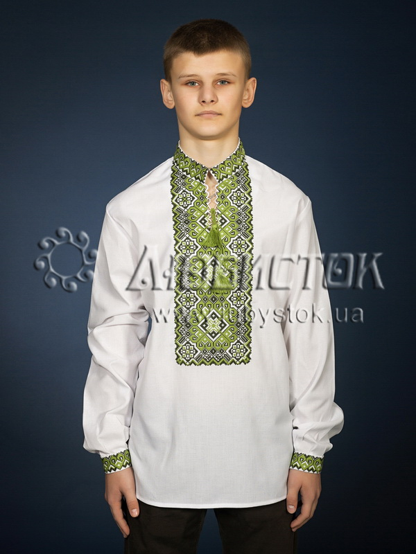 Вишита сорочка хрестиком ЧСВ 11-6