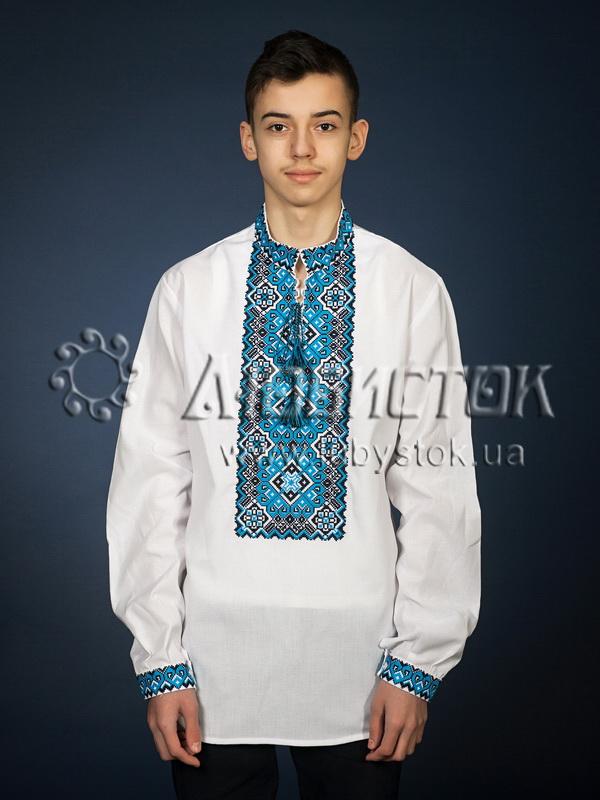 Вишита сорочка хрестиком ЧСВ 11-7