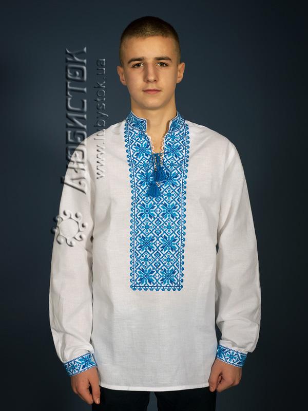 Вишита сорочка хрестиком ЧСВ 12-2