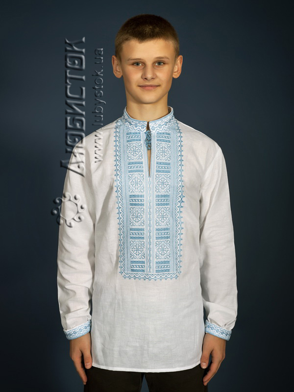 Вишита сорочка гладдю ЧСВ 13-8