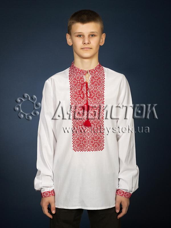 Вишита сорочка хрестиком ЧСВ 18-1