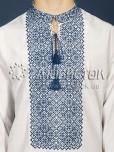Вишита сорочка хрестиком ЧСВ 18-5
