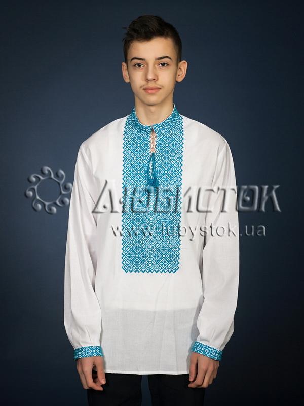Вишита сорочка хрестиком ЧСВ 18-8