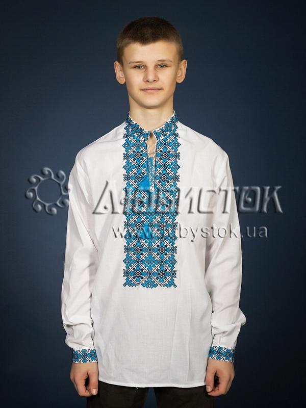 Вишита сорочка хрестиком ЧСВ 19-3