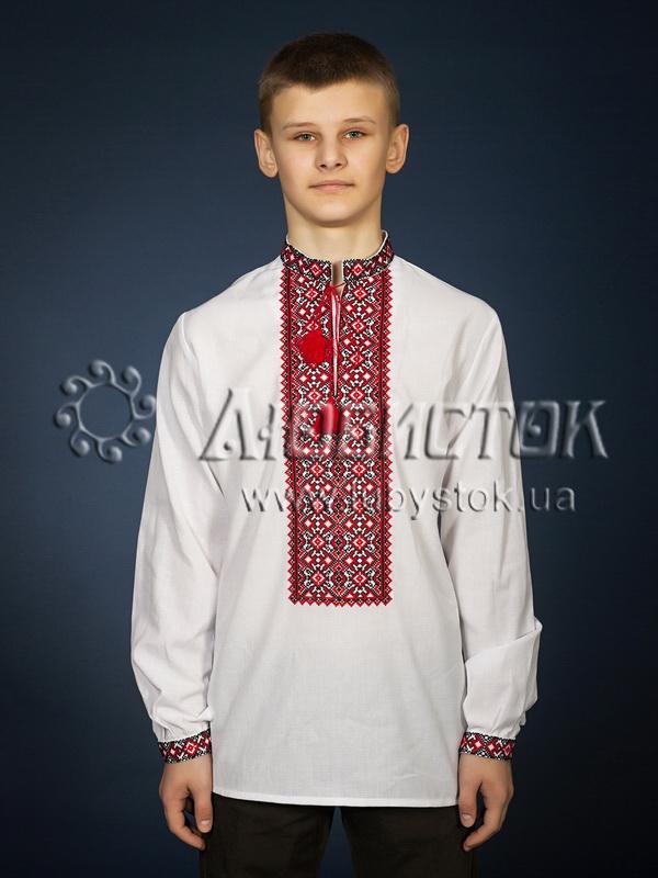 Вишита сорочка хрестиком ЧСВ 20-1