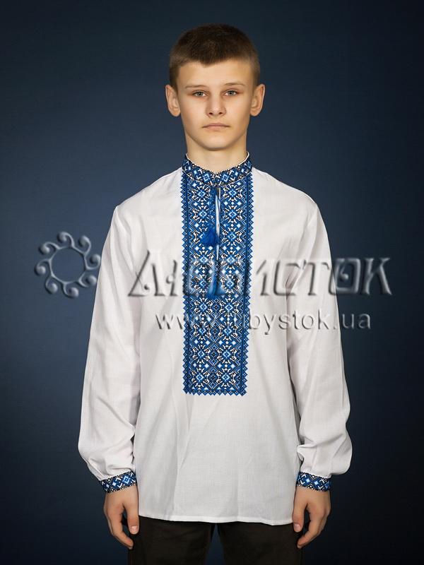 Вишита сорочка хрестиком ЧСВ 20-4
