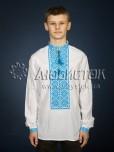 Вишита сорочка хрестиком ЧСВ 21-6