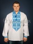 Вишита сорочка хрестиком ЧСВ 22-4