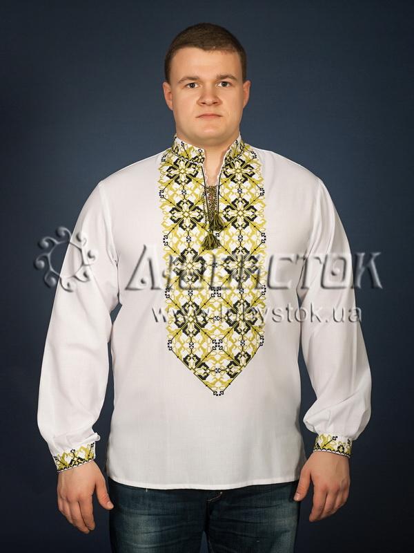 Вишита сорочка хрестиком ЧСВ 22-6