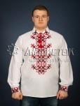 Вишита сорочка хрестиком ЧСВ 23-1
