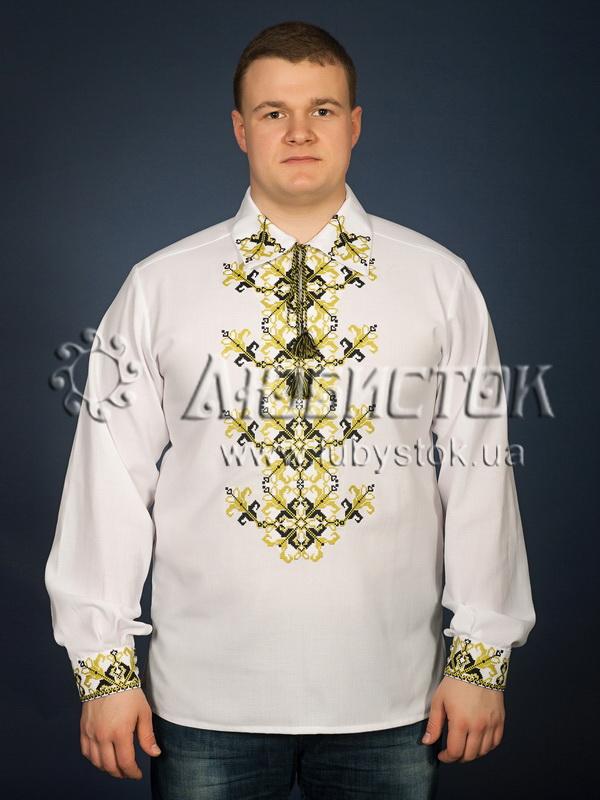 Вишита сорочка хрестиком ЧСВ 23-6