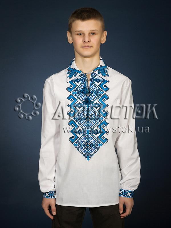 Вишита сорочка хрестиком ЧСВ 24-3
