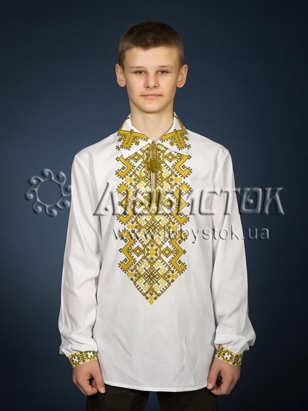 Вишита сорочка хрестиком ЧСВ 24-6