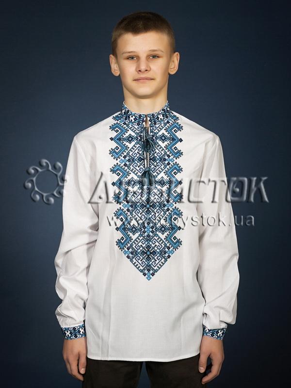 Вишита сорочка хрестиком ЧСВ 25-4