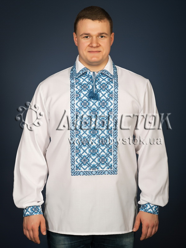 Вишита сорочка хрестиком ЧСВ 26-4
