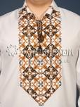 Вишита сорочка хрестиком ЧСВ 27-1