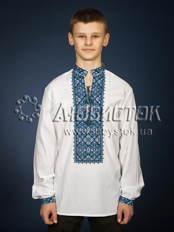Вишита сорочка хрестиком ЧСВ 29-4
