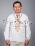 Вишита сорочка хрестиком ЧСВ 30-1