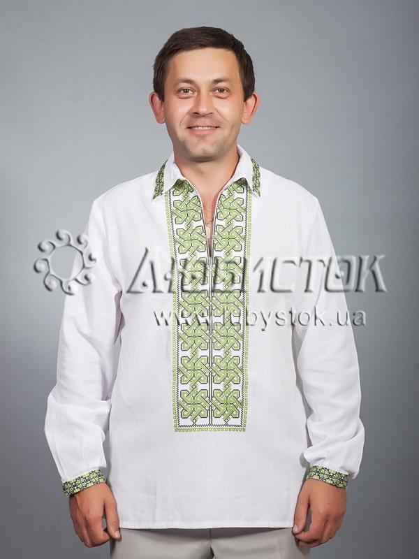 Вишита сорочка хрестиком ЧСВ 31-3