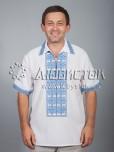 Вишита сорочка хрестиком ЧСВ 31-4