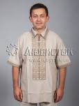 Вишита сорочка хрестиком ЧСВ 31-7