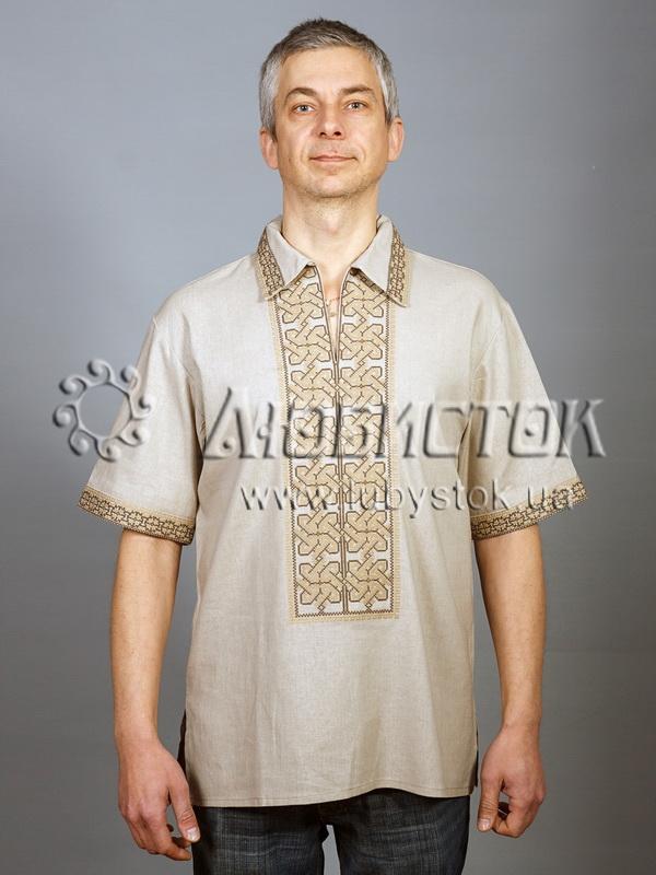 Вишита сорочка хрестиком ЧСВ 31-8