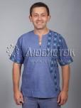 Вишита сорочка хрестиком ЧСВ 36-1