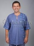 Вишита сорочка хрестиком ЧСВ 36-2