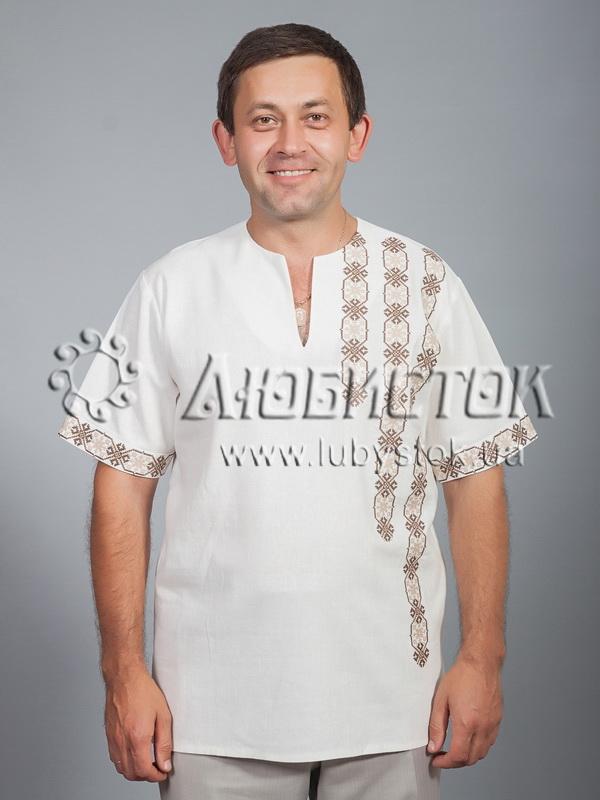 Вишита сорочка хрестиком ЧСВ 36-6