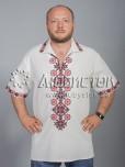 Вишита сорочка хрестиком ЧСВ 37-4