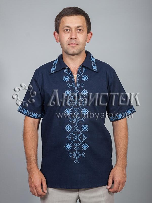 Вишита сорочка хрестиком ЧСВ 37-6