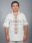 Вишита сорочка хрестиком ЧСВ 37-8