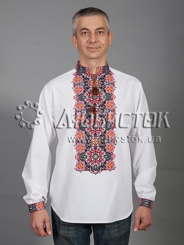 Вишита сорочка хрестиком ЧСВ 41-4