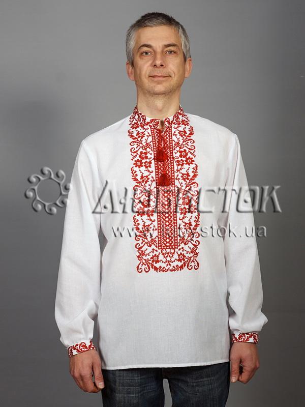 Вишита сорочка хрестиком ЧСВ 48-1